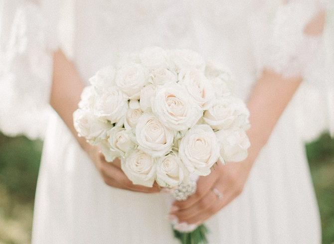 meaning of white colour in wedding