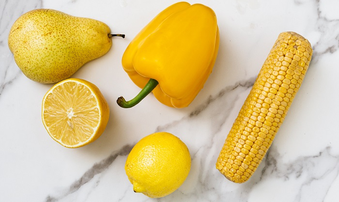 Meaning of yellow foods